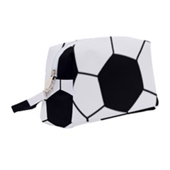 Soccer Lovers Gift Wristlet Pouch Bag (medium) by ChezDeesTees