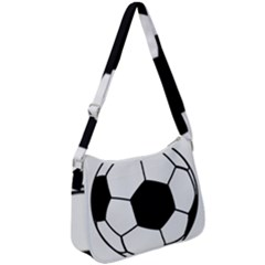 Soccer Lovers Gift Zip Up Shoulder Bag by ChezDeesTees