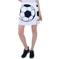 Soccer Lovers Gift Tennis Skirt by ChezDeesTees