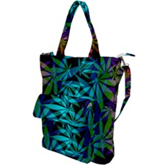 420 Ganja Pattern, Weed Leafs, Marihujana In Colors Shoulder Tote Bag