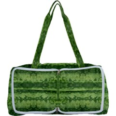 Watermelon Pattern, Fruit Skin In Green Colors Multi Function Bag