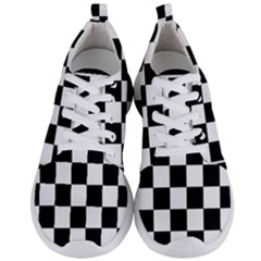 Chess Board Background Design Men s Lightweight Sports Shoes