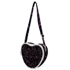 Digital Polka Heart Shoulder Bag