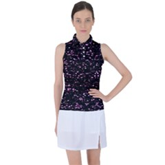 Digital Polka Women s Sleeveless Polo Tee