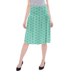 Biscay Green #3 Midi Beach Skirt