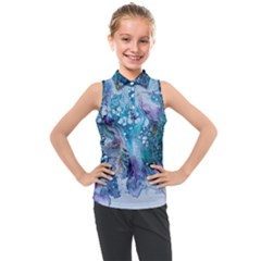 Sea Anemone  Kids  Sleeveless Polo Tee