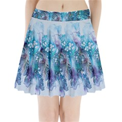 Sea Anemone  Pleated Mini Skirt