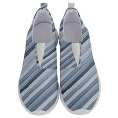 Modern Stripes Print No Lace Lightweight Shoes