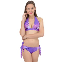 Colorful-abstract-wallpaper-theme Tie It Up Bikini Set