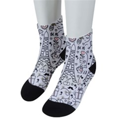 Big-collection-with-hand-drawn-objects-valentines-day Men s Low Cut Socks