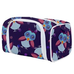 Owl-pattern-background Toiletries Pouch
