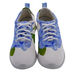 Botanical Floral Print Stylized Photo Athletic Shoes by dflcprintsclothing