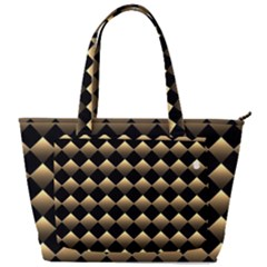 Golden-chess-board-background Back Pocket Shoulder Bag