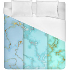 Background Marble Set Duvet Cover (king Size)