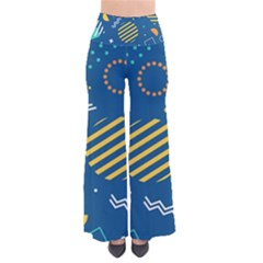 Flat-design-geometric-shapes-background So Vintage Palazzo Pants