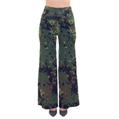 Military Background Grunge-style So Vintage Palazzo Pants