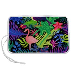 Tropical-exotic-colors-seamless-pattern Pen Storage Case (l)