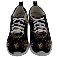 Asian-set-with-clouds-moon-sun-stars-vector-collection-oriental-chinese-japanese-korean-style Mens Athletic Shoes