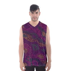 Colorful-abstract-seamless-pattern Men s Basketball Tank Top