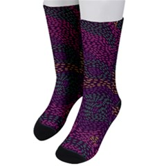 Colorful-abstract-seamless-pattern Men s Crew Socks