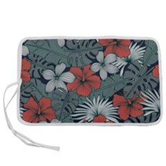 Seamless-floral-pattern-with-tropical-flowers Pen Storage Case (m)