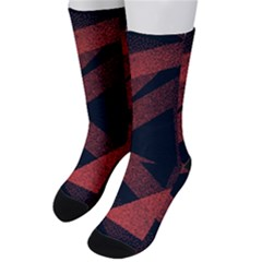 Stippled Seamless Pattern Abstract Men s Crew Socks