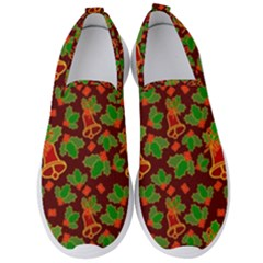 Illustration-christmas-default Men s Slip On Sneakers
