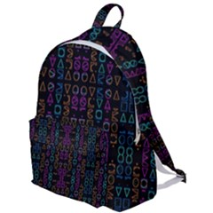 Neon Geometric Seamless Pattern The Plain Backpack