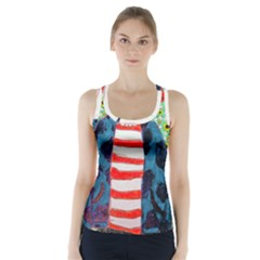 Fiola Wall Racer Back Sports Top by snowwhitegirl