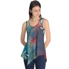Flower Dna Sleeveless Tunic
