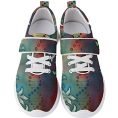 Flower Dna Men s Velcro Strap Shoes by RobLilly