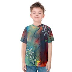 Flower Dna Kids  Cotton Tee