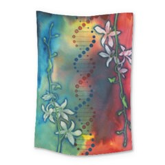 Flower Dna Small Tapestry