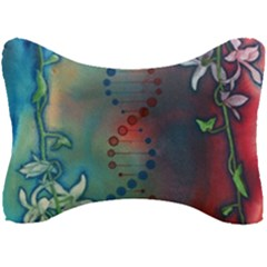 Flower Dna Seat Head Rest Cushion