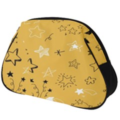 Various Stars Doodle Collection Vector Full Print Accessory Pouch (big) by Bejoart