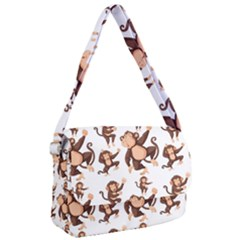 Monkey Seamless Pattern Courier Bag