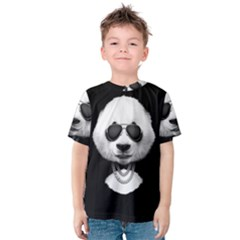 Cool Panda Kids  Cotton Tee