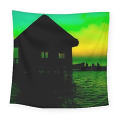 Ocean Dreaming Square Tapestry (large)