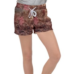 Twine In Bloom Velour Lounge Shorts