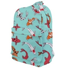 Pattern With Koi Fishes Classic Backpack by BangZart