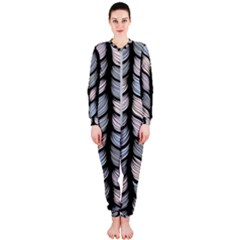 Seamless Pattern With Interweaving Braids Onepiece Jumpsuit (ladies)  by BangZart