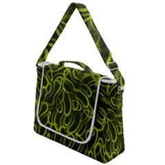 Green Abstract Stippled Repetitive Fashion Seamless Pattern Box Up Messenger Bag