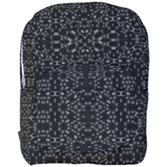 Black And White Tech Pattern Full Print Backpack by dflcprintsclothing