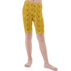 Blossoms  So Free In Freedom Kids  Mid Length Swim Shorts