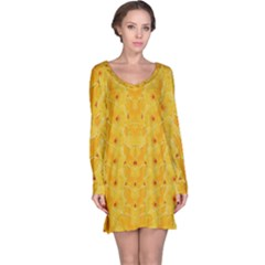 Blossoms  So Free In Freedom Long Sleeve Nightdress