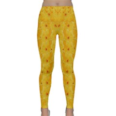Blossoms  So Free In Freedom Classic Yoga Leggings