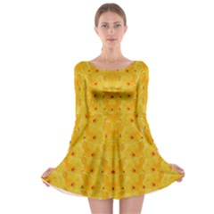 Blossoms  So Free In Freedom Long Sleeve Skater Dress