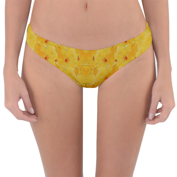 Blossoms  So Free In Freedom Reversible Hipster Bikini Bottoms