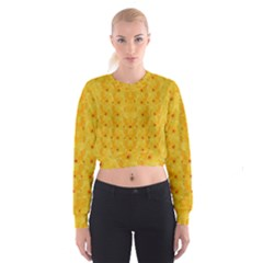 Blossoms  So Free In Freedom Cropped Sweatshirt