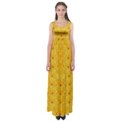 Blossoms  So Free In Freedom Empire Waist Maxi Dress